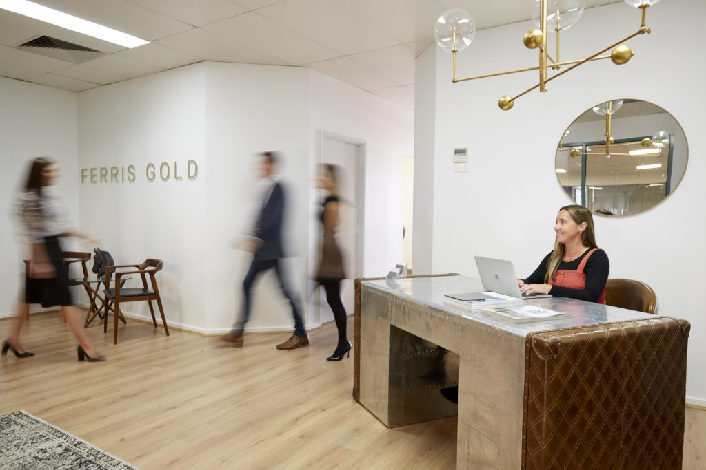 The Ferris Gold office - real estate Torquay